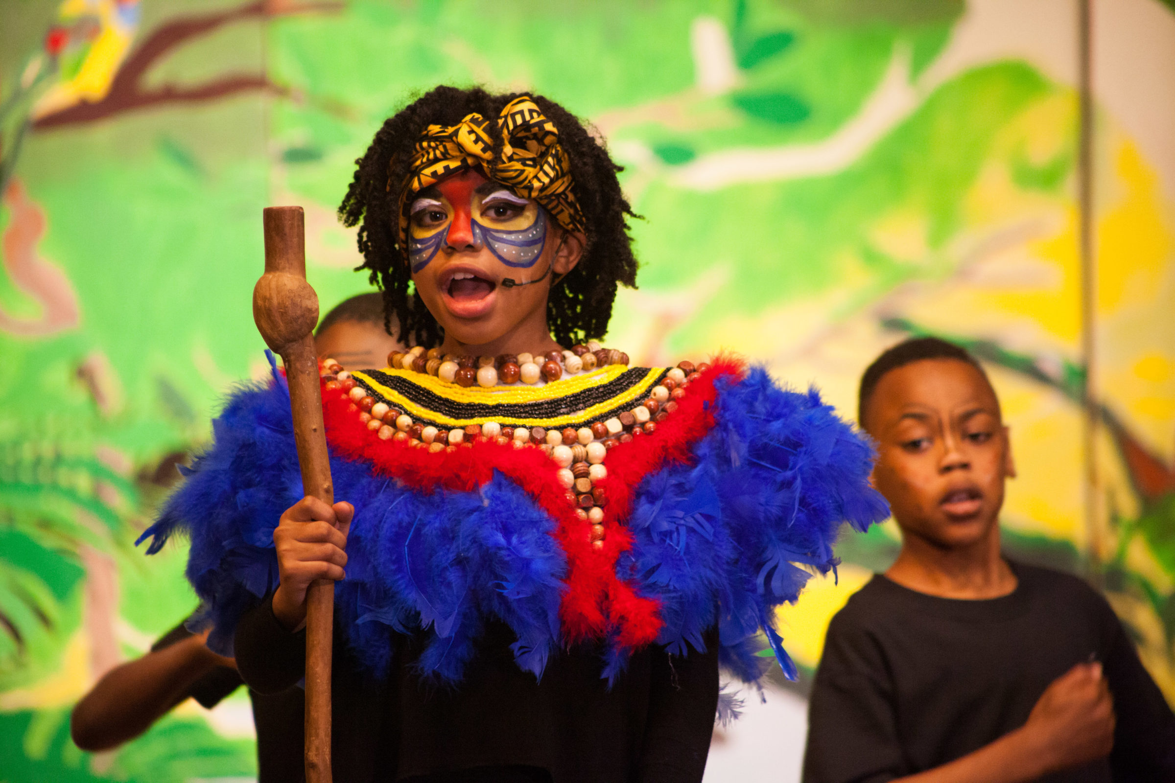 E.L. Haynes' Performance of The Lion King